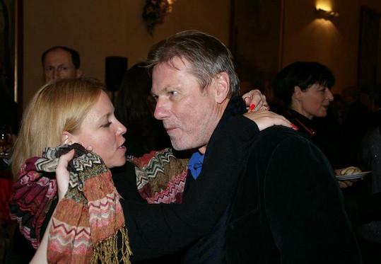 Zdeněk Merta s Terezou Pokornou, bývalou manželkou Juraje Herze.