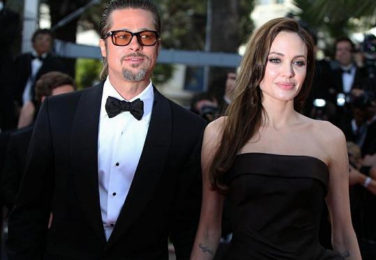 Takhle to Bradu Pittovi a Angelině Jolie slušelo na filmovém festivalu v Cannes.