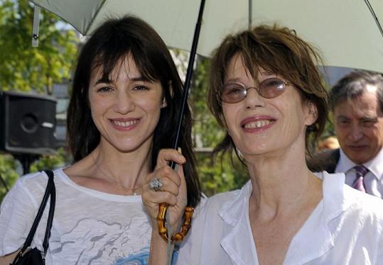 Jane s dcerou Charlotte.