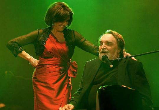 Jaroslav Wykrent přemlouval Rottrovou, aby s koncertováním nekončila.