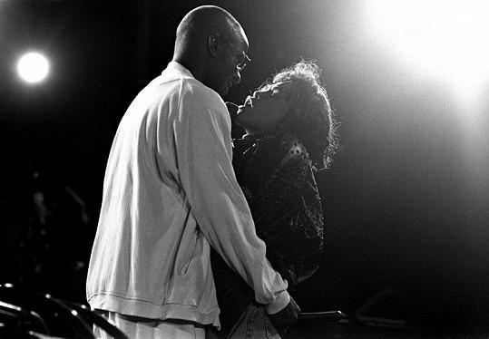 Whitney Houston a Bobby Brown.