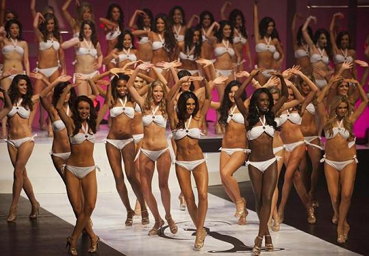 Konkurence byla veliká, celkem se o vítězství snažilo 62 kanadských krásek.