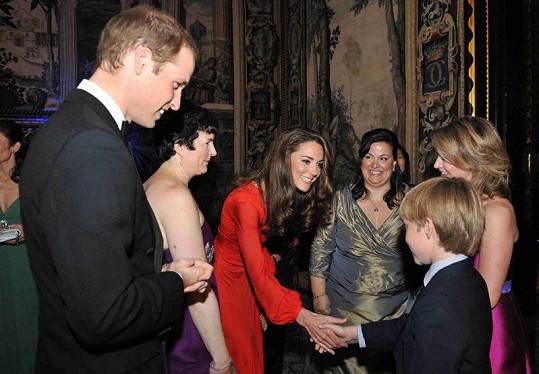 Princezna Kate byla jako vždy vstřícná a milá.