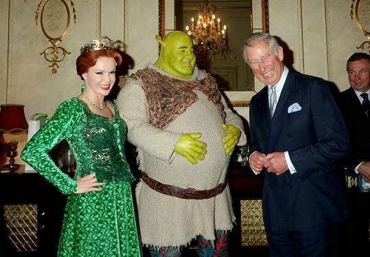 Prince Charlese, Fionu i Shreka schůzka očividně pobavila.