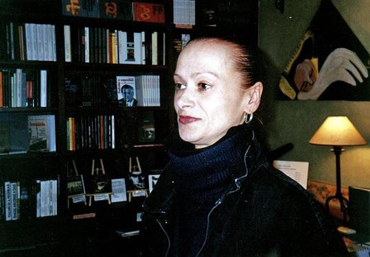 Yvetta Kornová v roce 2000, kdy točila pořad Osudy hvězd.