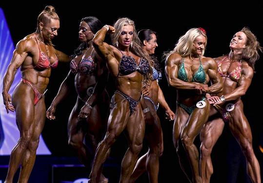 Ženy s nejvypracovanějšími těly na světě se každoročně setkávají na soutěži Ms. Olympia.