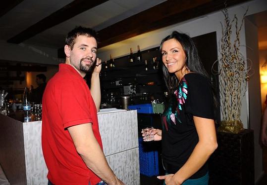 Andrea Vránová Kloboučková s manželem Honzou mají spokojené manželství.