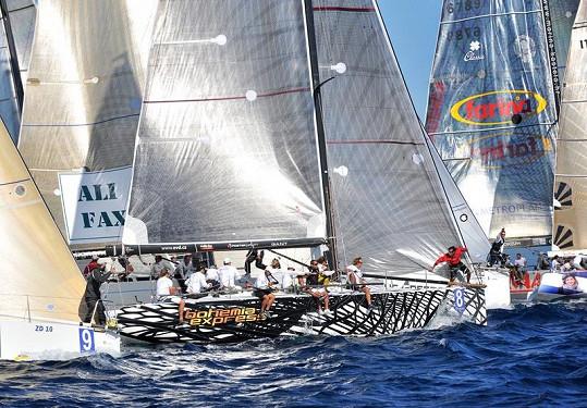 Bohemia Express v akci na moři.