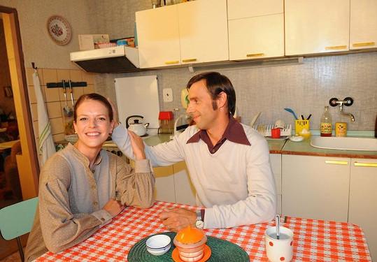 Andrea Kerestešová a Roman Vojtek si dost rozumí.