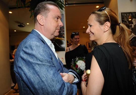 Štefan Margita a Monika Absolonová.
