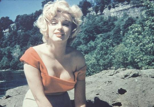 Marilyn Monroe nafotila tyto snímky v roce 1953.