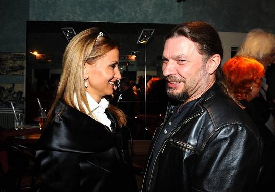 Yvetta Blanarovičová s Petrem Kolářem.
