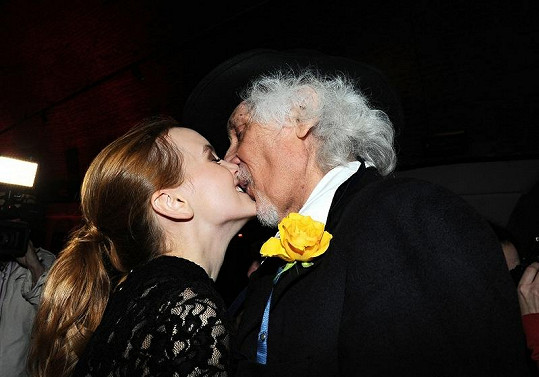 Jeho poslední láskou byla o 48 let mladší Kateřina.