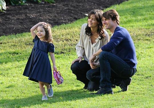 Tom s Katie a jejich Suri bývali šťastnou rodinou.