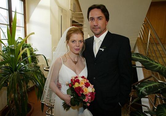 Za nevěstu byla také Monika Zoubková, která si v Ordinaci brala Martina Trnavského.