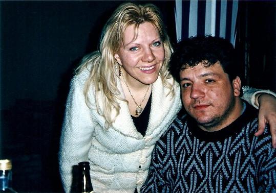 Marie s přítelem Jirkou.