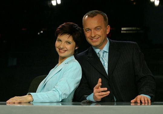 Markéta tvořila ještě nedávno moderátorskou dvojici s Karlem Voříškem.