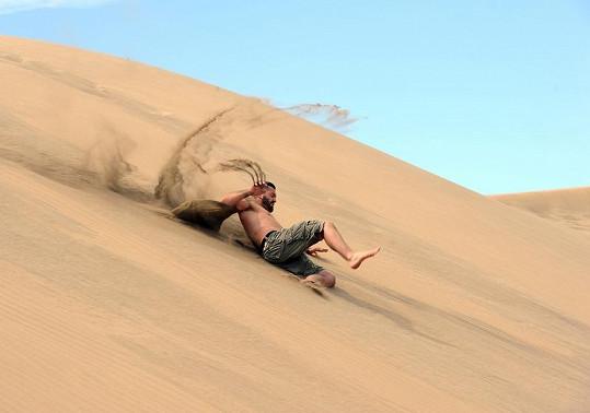 Noid v dunách.