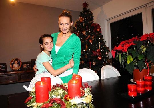 Martina s dcerou Jessikou.