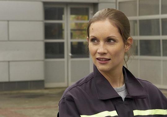 Hana Vagnerová je krásná i v uniformě.