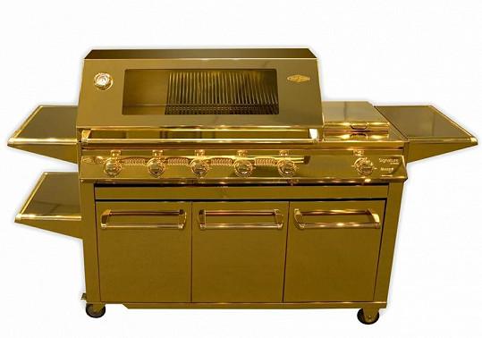 Nejdražší gril na světě pro opravdové boháče od firmy BeefEater Barbecues.