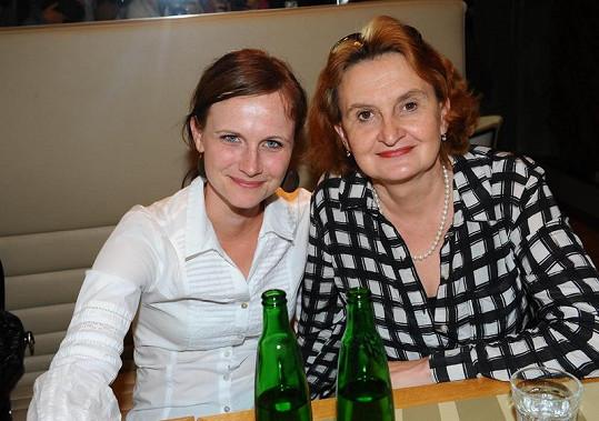 Kristýna Fuitová Nováková a Eva Holubová.