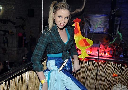 Reportérka Tereza Jemelíková vytáhla šusťákovku.