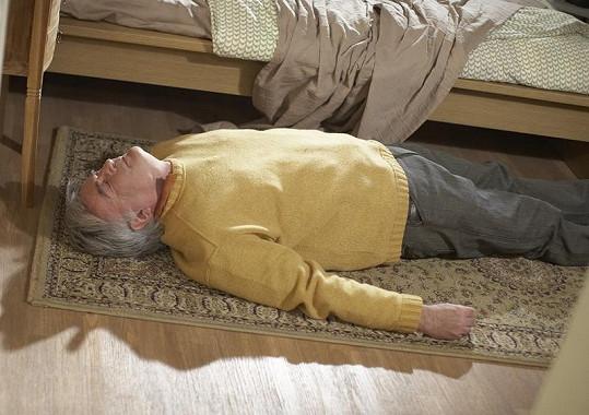 Dušanu Jamrichovi v roli Cyrila Hejla půjde dnes o život.