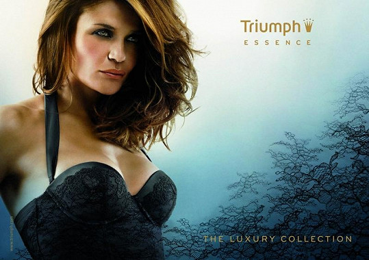 Helena Christensen pro Triumph Essence.