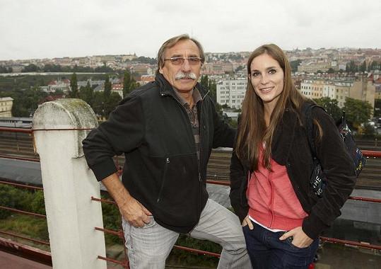 Pavel Zedníček s Hankou Vagnerovou, která v Expozituře odhalí jeho nekalé kšefty s mafiány.