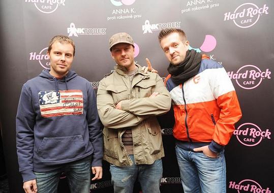 Zástupci kapel, které zahrají na festivalu Pinktober.