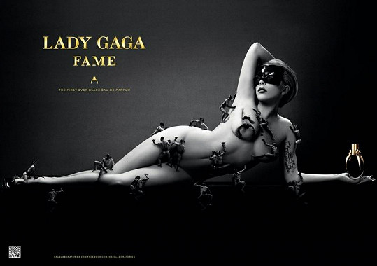 Propagace nového parfému Lady Gaga stojí za to.