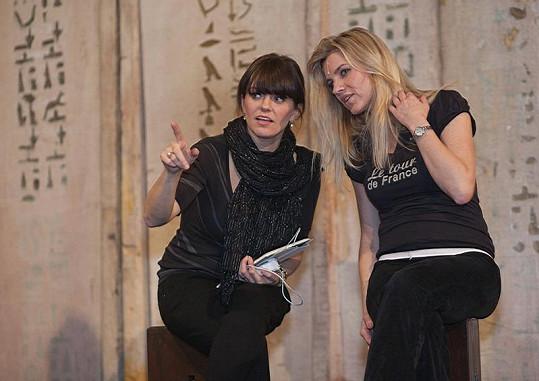 Leona Machálková a Marta Jandová si velmi rozumí.