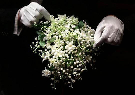 Svatební kytice.