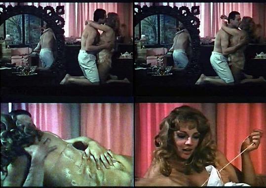 Známá herečka ve filmu Anděl svádí ďábla (1988).