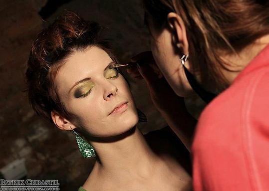 Tvorba make-upu.
