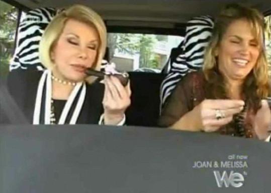 Joan Rivers se pořádně zkouřila.