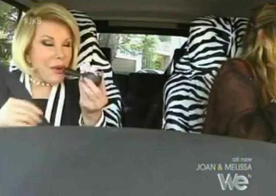 Marihuana Joan Rivers zachutnala.