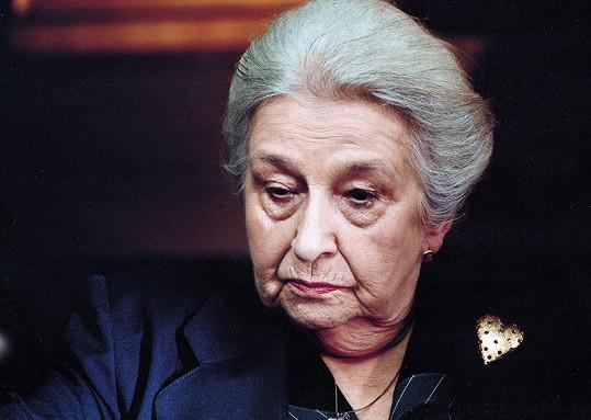 Poslední velká role Stelly Zázvorkové ve filmu Babí léto.