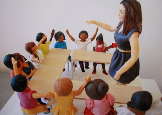 Neobyčejným dárkem můžete potěšit učitelku svých dětí...