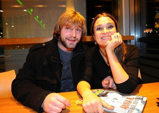 Mahulena Bočanová s dnes už bývalým přítelem Jiřím Herdou.