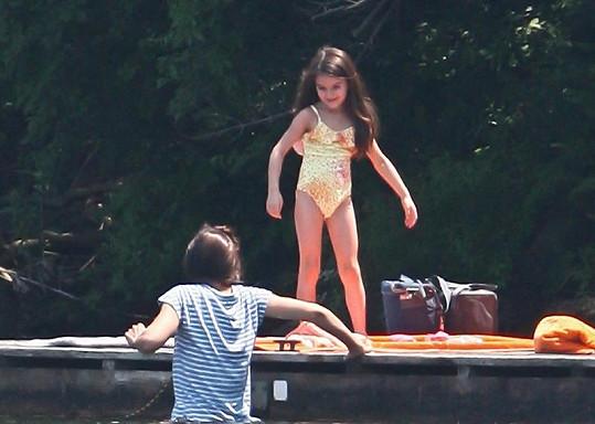 Známá herečka se snaží s dcerou trávit co nejvíce času.