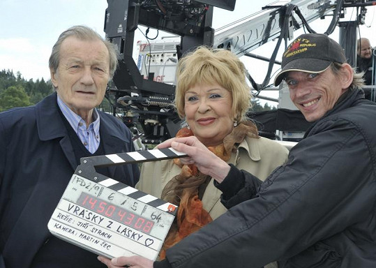 Bohdalová s Brzobohatým k sobě našli po letech cestu díky filmu.