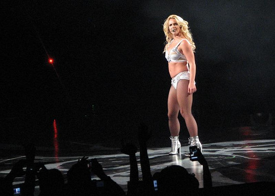 Britney Spears očividně přibrala.