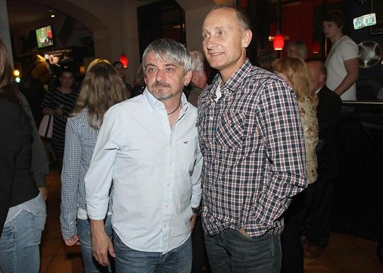 Josef Carda a Michal Suchánek se potkali po dlouhé době.