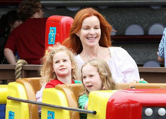 Herečka se stala poprvé matkou v pětačtyřiceti.