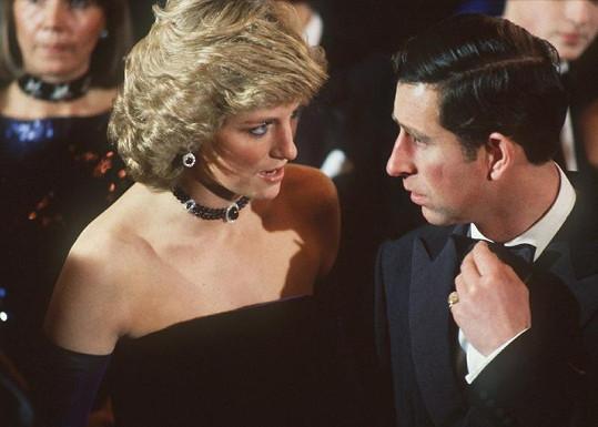 Princezna Diana s Charlesem.