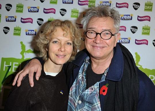 Martin a Jenny Seagrove.