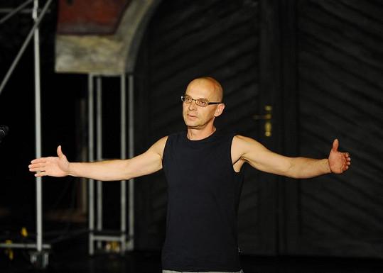 Tomáš Trapl na konkurzu.