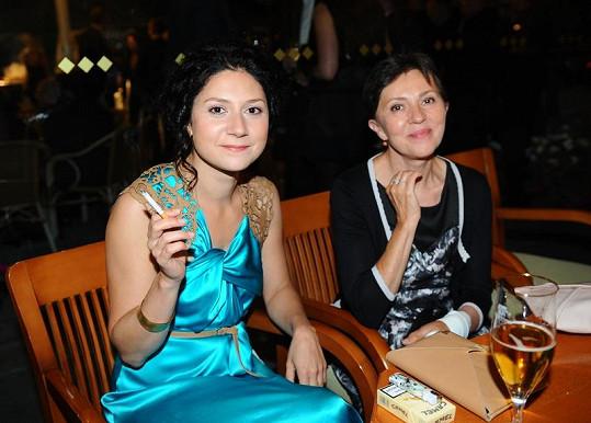 Martha s maminkou, která prodělala rakovinu prsu.